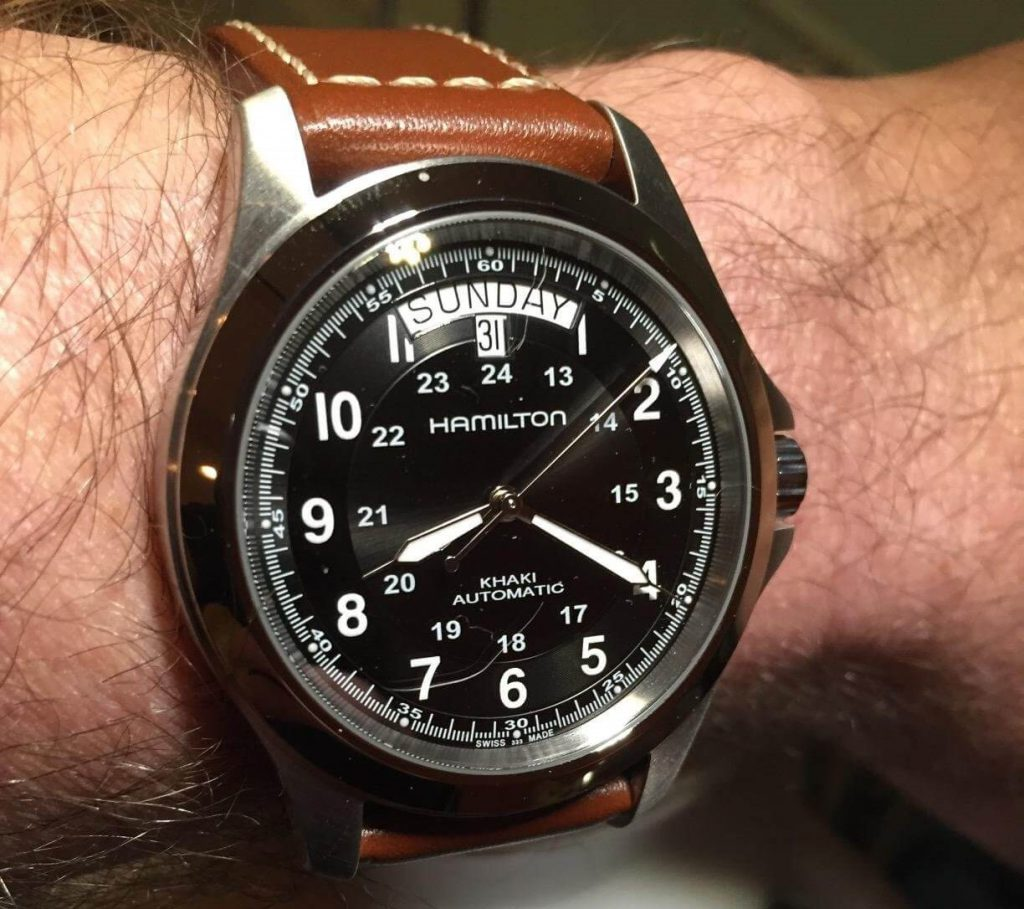 Hamilton Khaki King review Hands on
