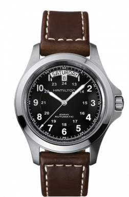 Hamilton Khaki King Automatic Watch H64455533 Review - A Homage To Military Watch