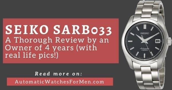 Seiko SARB033 Review