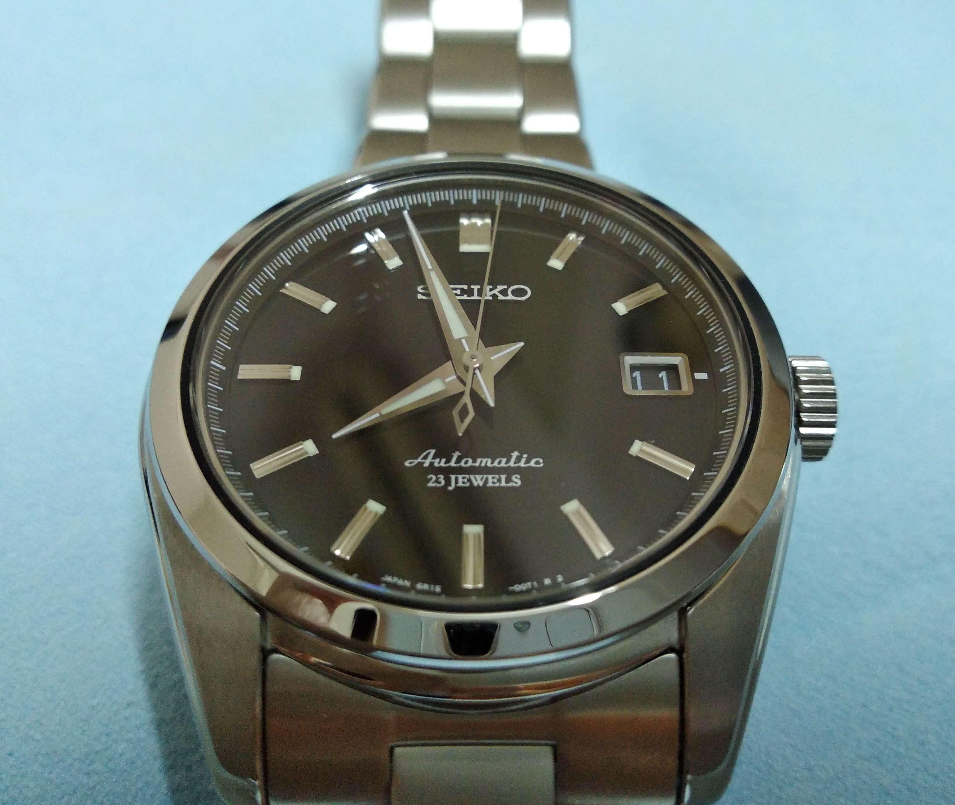 Seiko SARB033 black dial