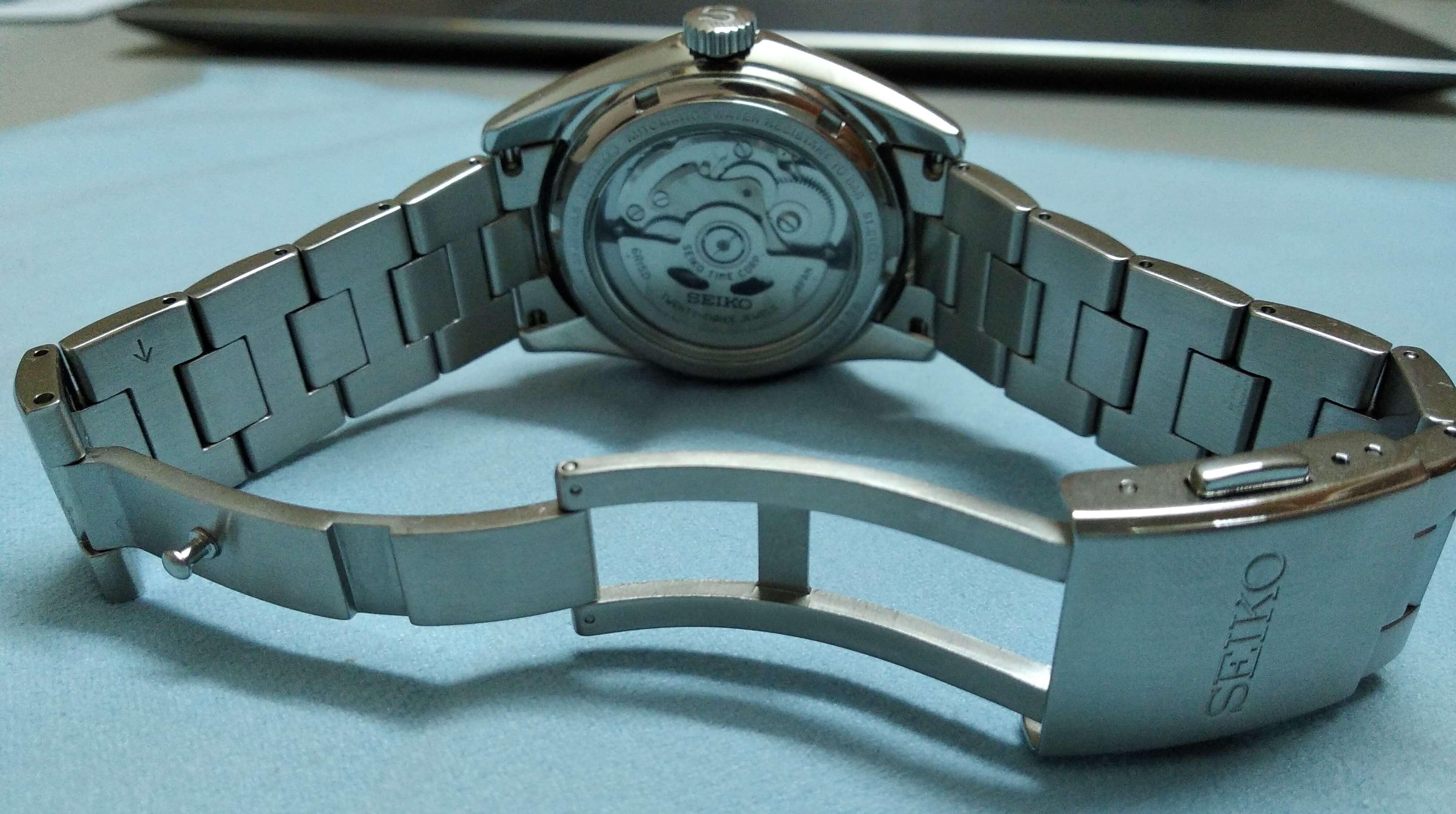 Seiko SARB033 clasp bracelet