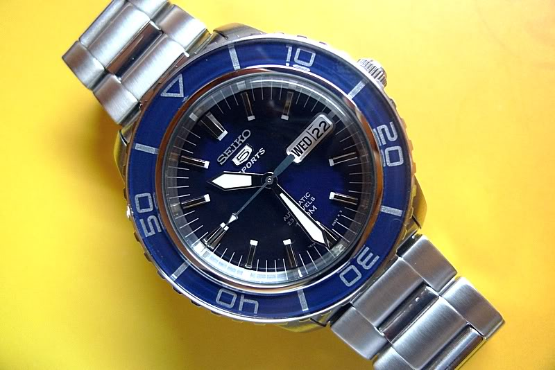 Seiko SNZH53 Blue Review
