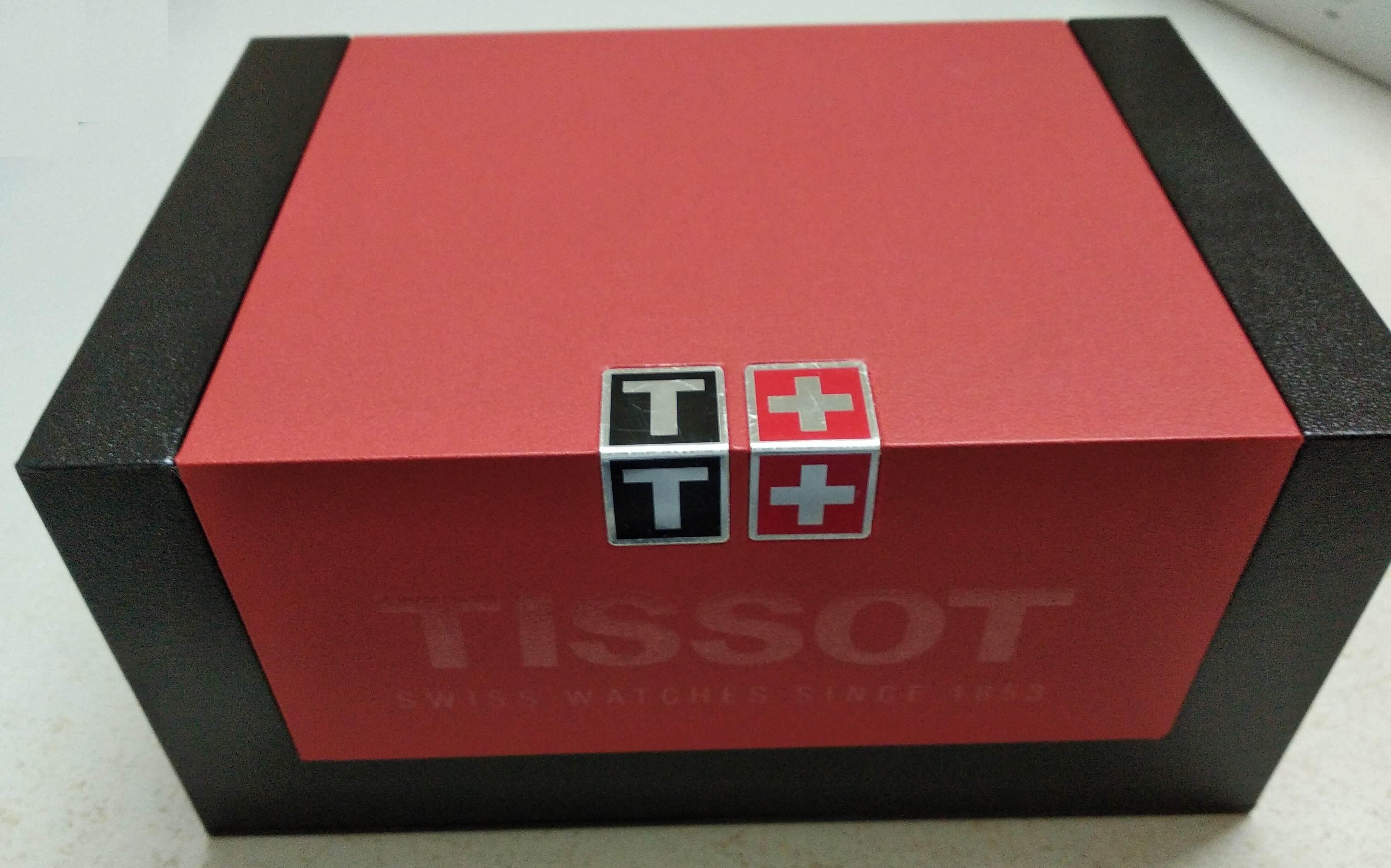Tissot Visodate Box