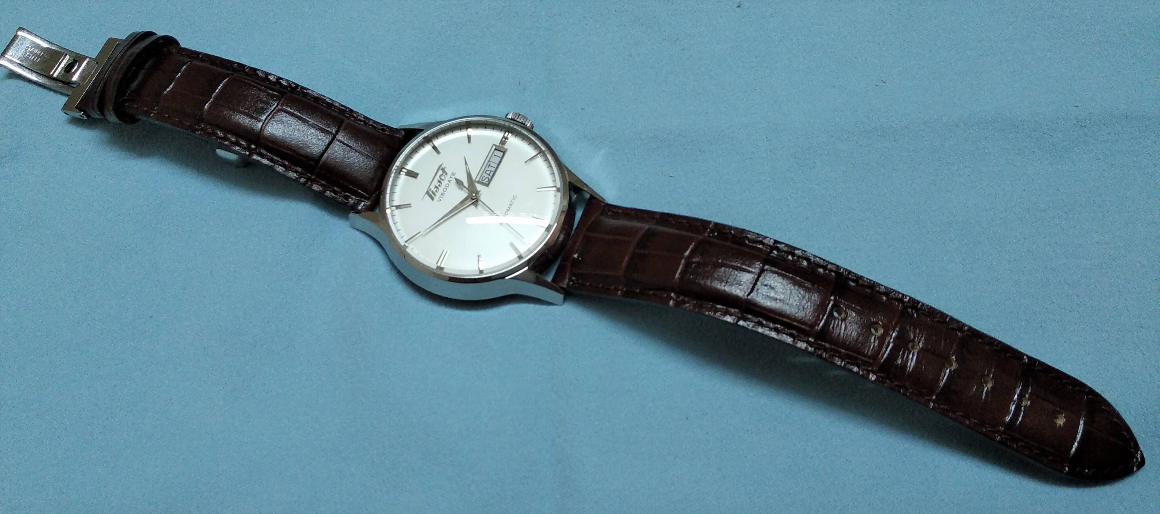 Tissot Visodate beautiful dress watch (1)