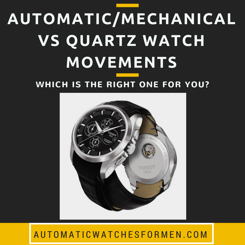 AutomaticMechanical Vs Quartz Watch Movements