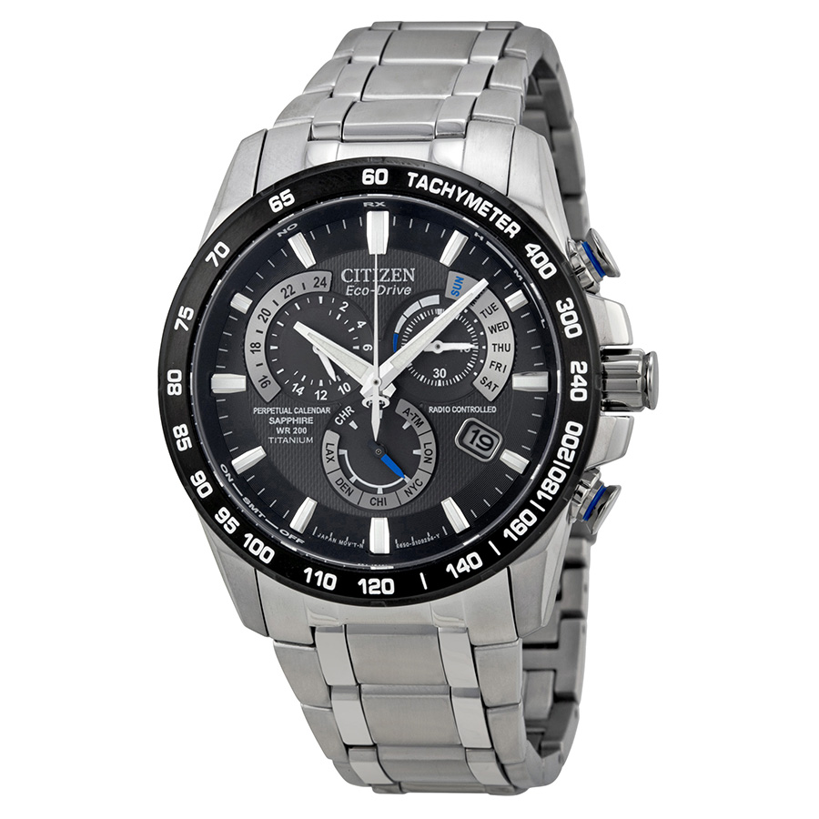 Citizen Eco-Drive Perpetual Chronograph AT4010-50E Watch Review – Super Accurate Wrist Watch With Atomic Timekeeping