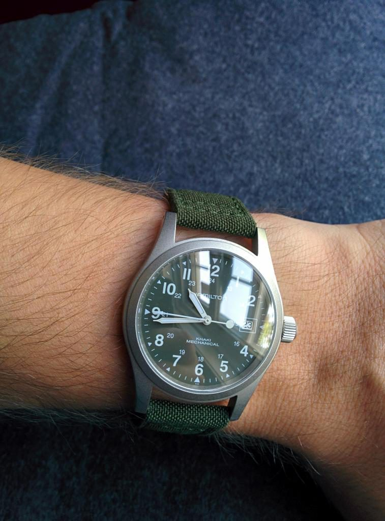 Hamilton Khaki Field Review Automatic Watches For Men