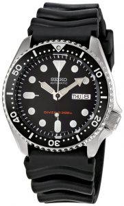 Seiko SKX009 Diver's Automatic Watch Review - SKX007