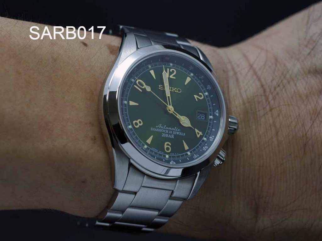 seiko-sarb017-alpinist-review-bracelet