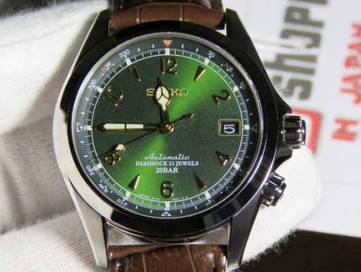 Seiko alpinist review sarb017 automatic watches for men for Mountain watches