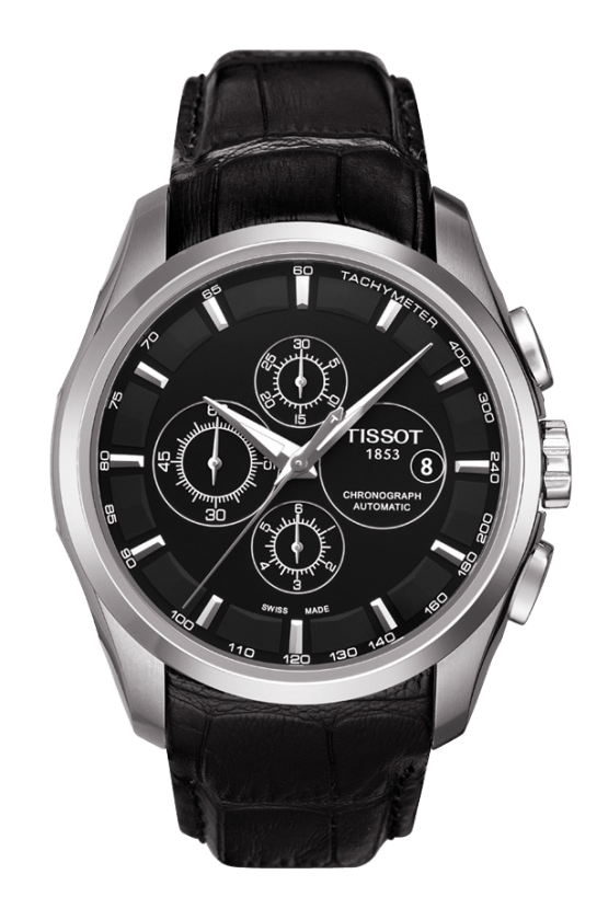 6 Things To Consider When Choosing Your Wrist Watch-tissot-couturier-chronograph