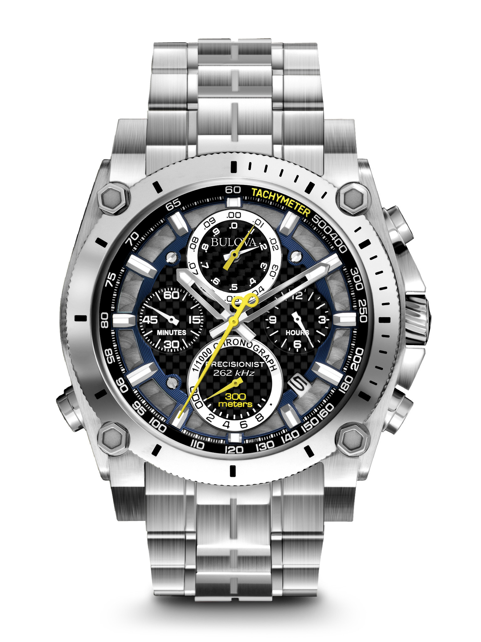 Bulova Precisionist Chronograph Watch Review (96B175)