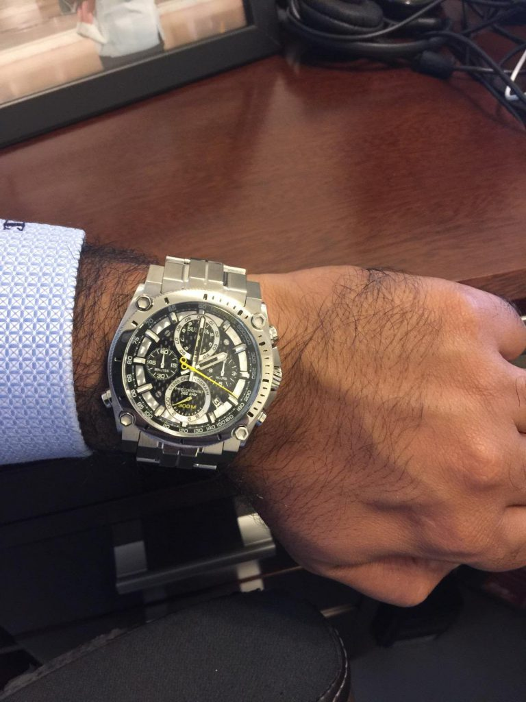 Bulova Precisionist Chronograph Watch Review On Hand