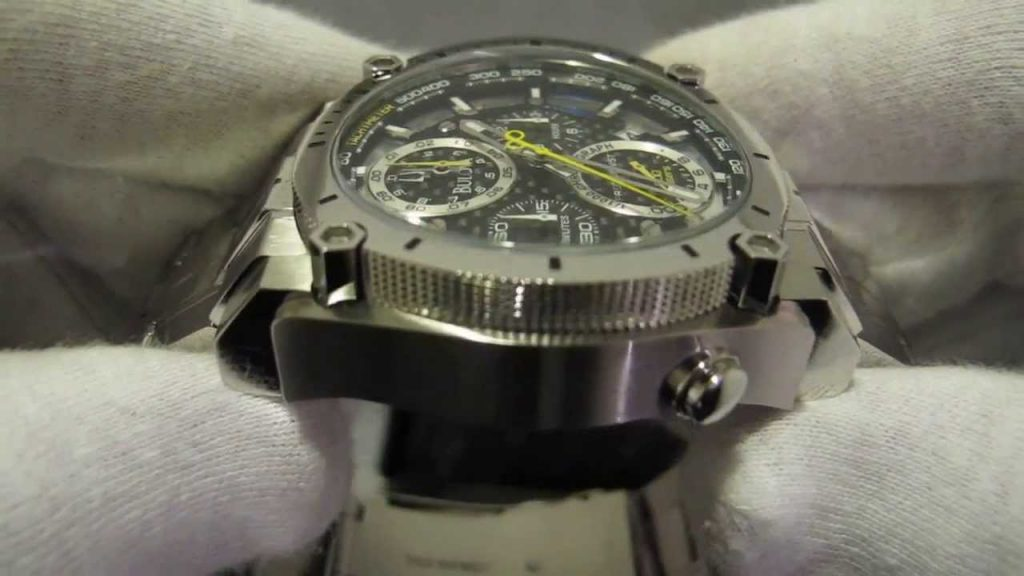 Bulova Precisionist Chronograph Watch Review