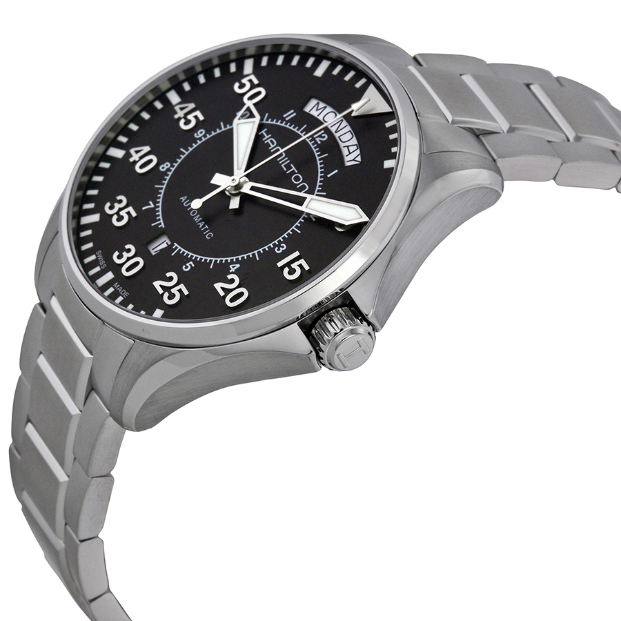 Hamilton Khaki Aviation Sides Curves