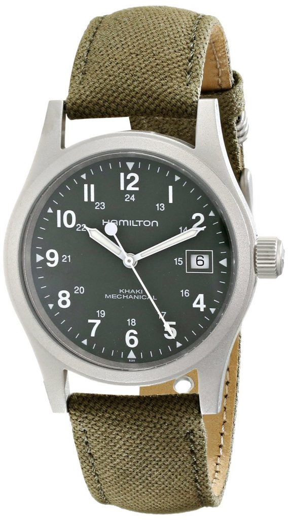 Swiss army officer watches