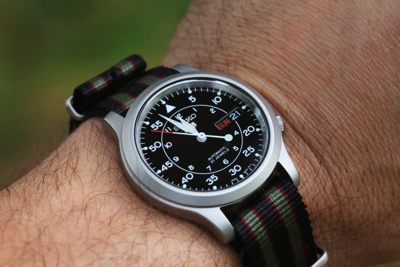 Seiko 5 SNK809 Military Watch Review
