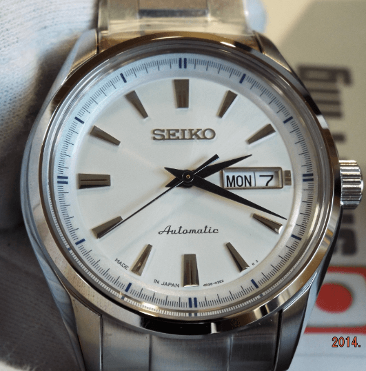 Seiko SARY055 watch face