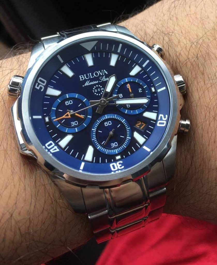 Bulova Marine Star on hand