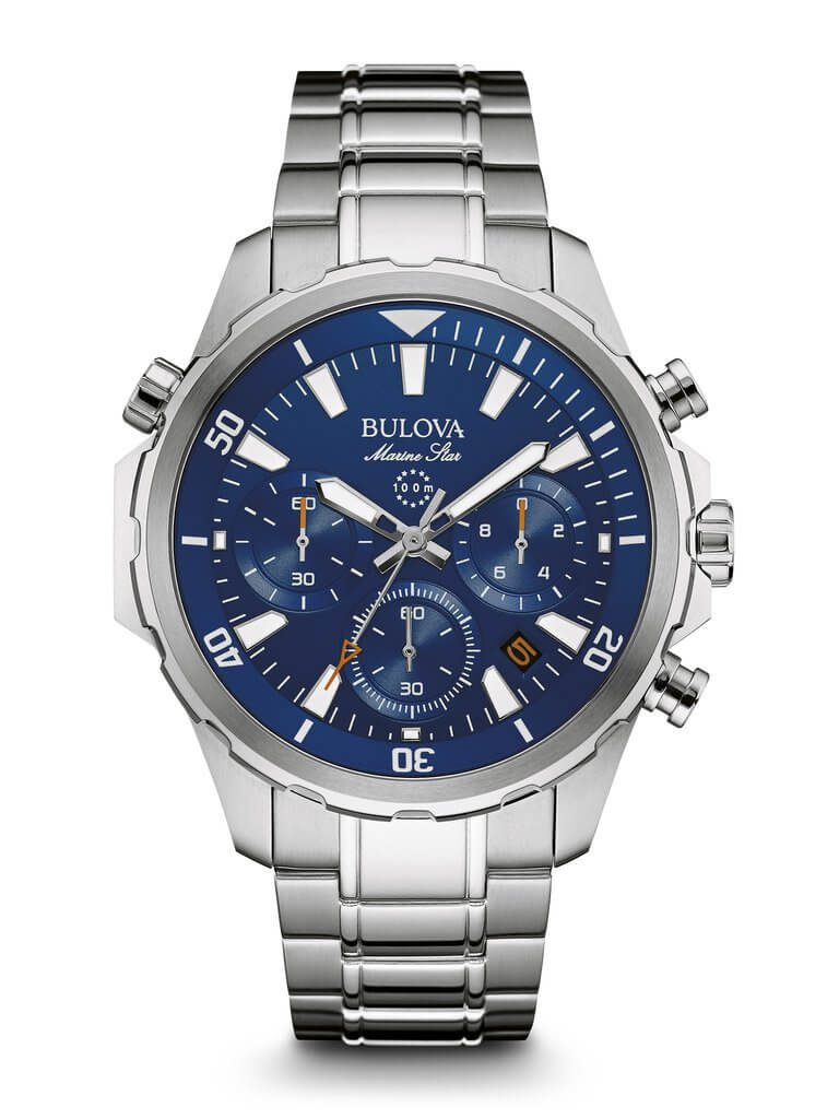 Bulova marine star review automatic watches for men for Marine watches