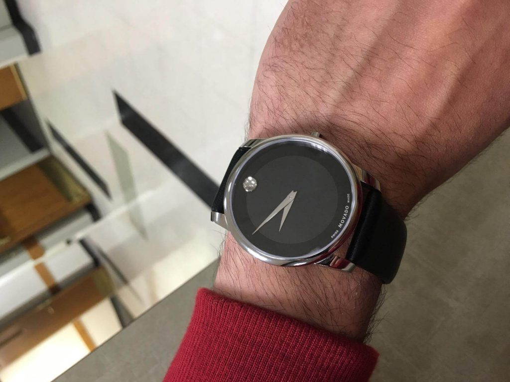Movado Museum on Hand