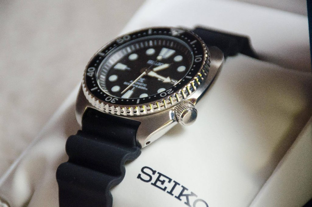 Seiko SRP777 Turtle side