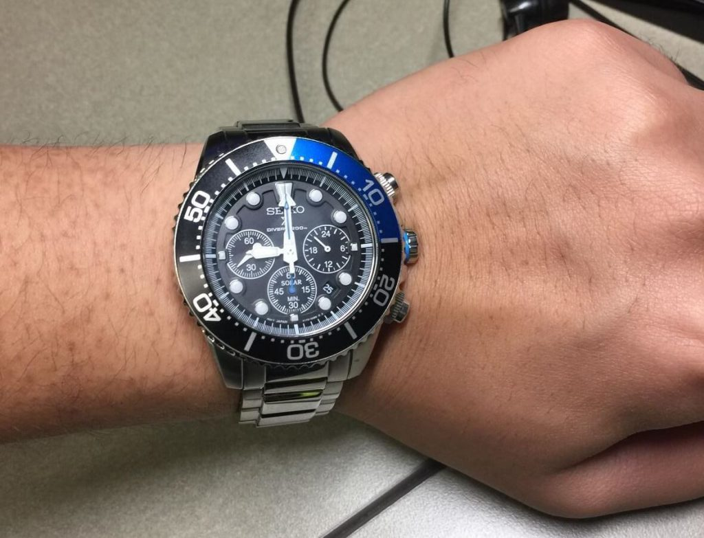 Seiko SSC017 On Hand