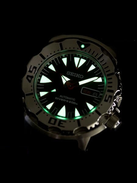 Seiko monster lume