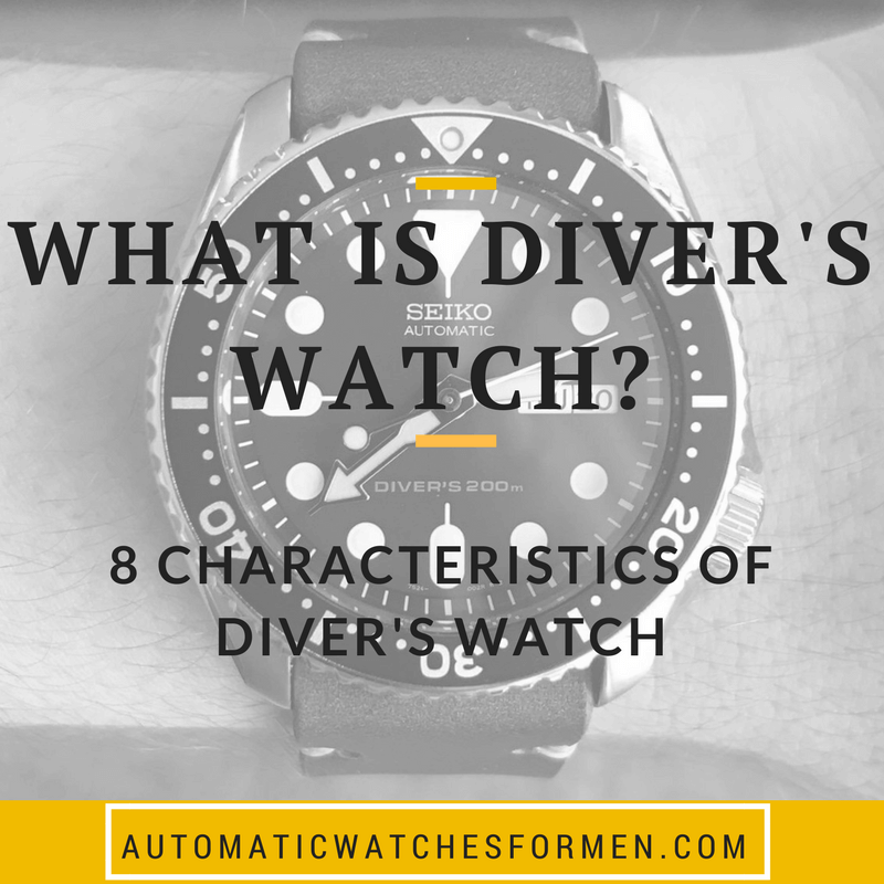 What Is Diver's Watch