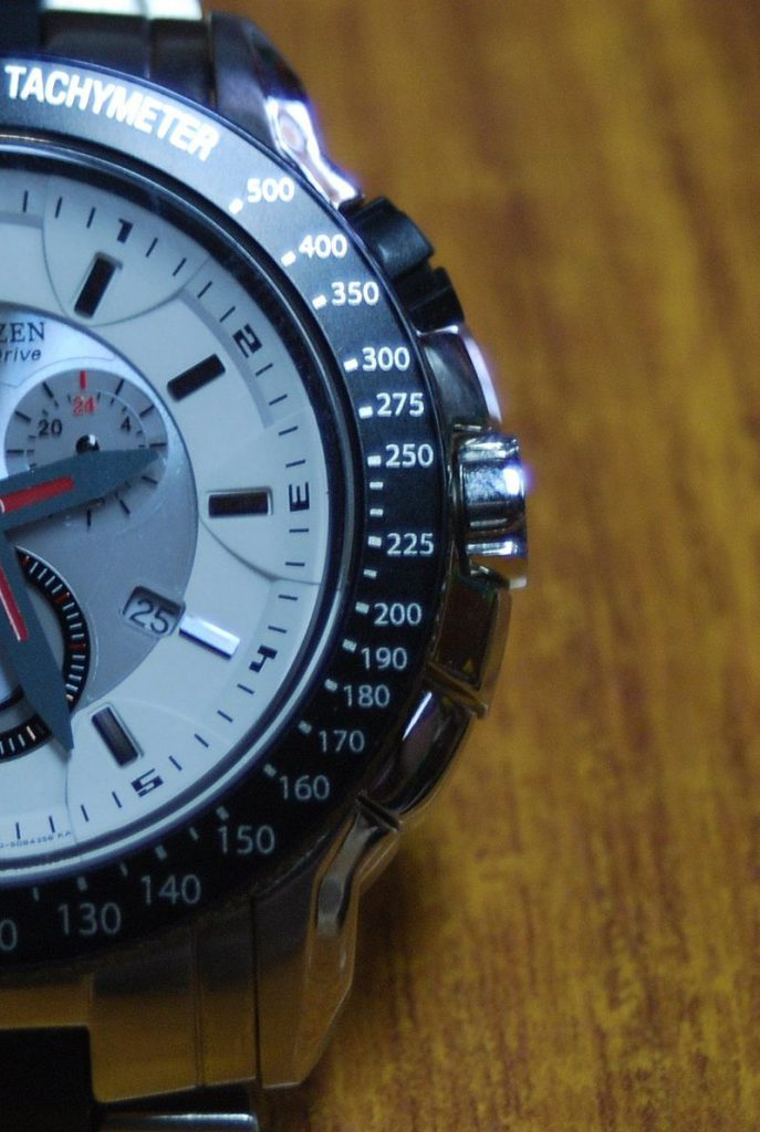 chronograph watch functions - tachymeter