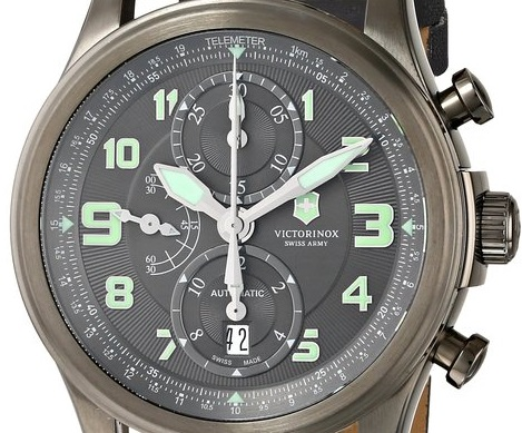 telemeter chronograph watch