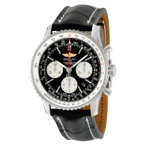what is chronograph watch analog - breitling navitimer