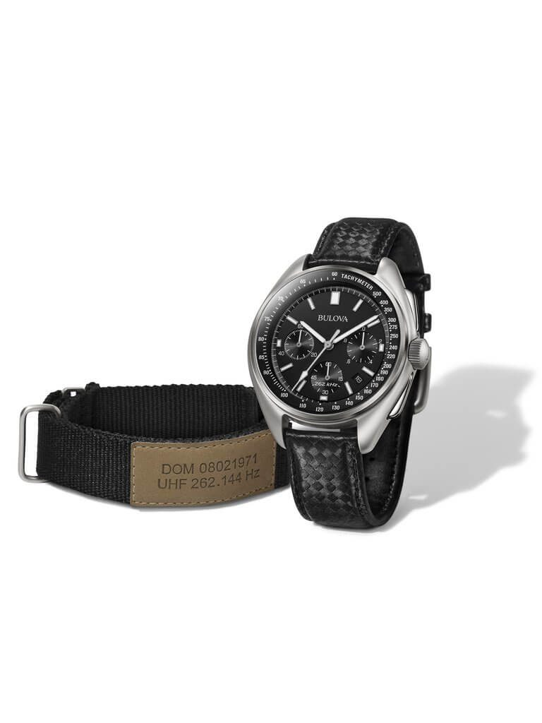 Bulova Moon Watch Leather Nylon Straps
