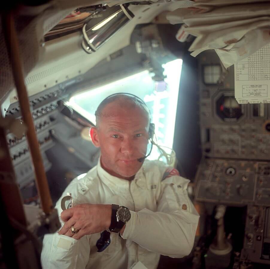 Buzz Aldrin Omega Speedmaster Moon