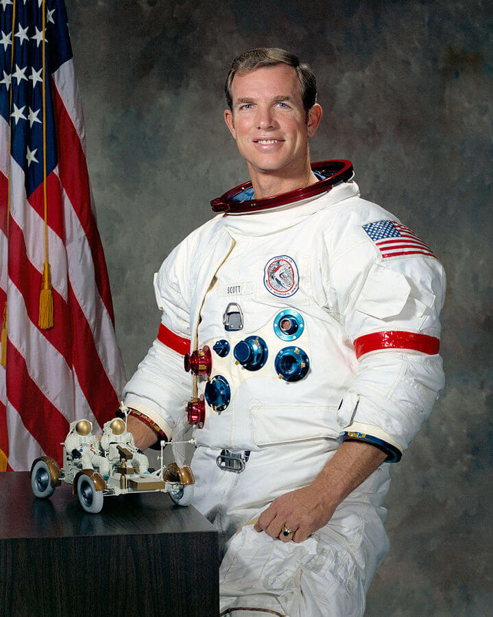 David Scott Commander Apollo 15