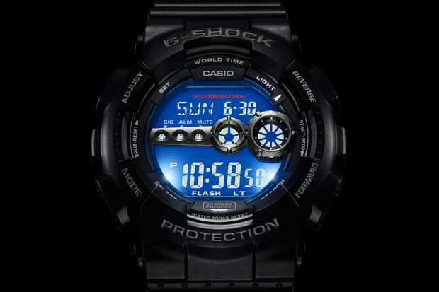 G-shock light