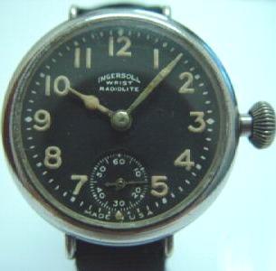 Ingersoll Radiolite Vintage Watch