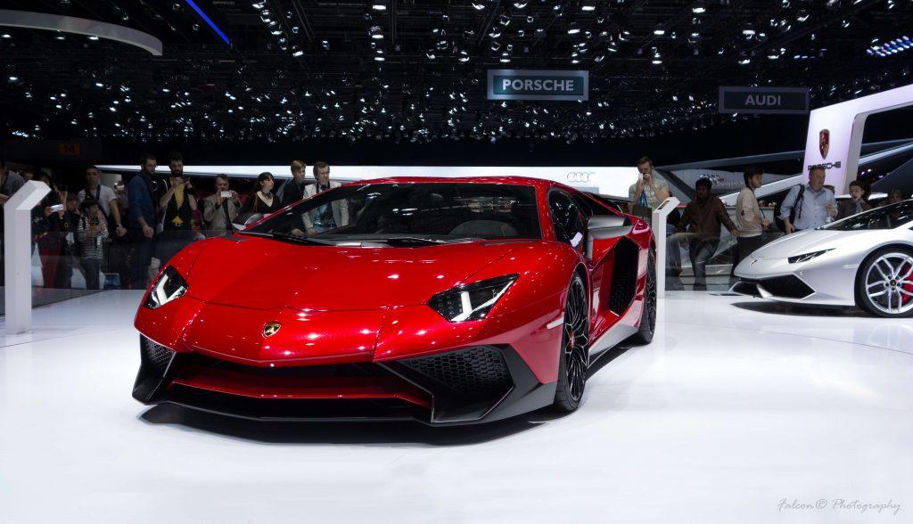 Lamborghini Aventador Superveloce Carbon Fiber