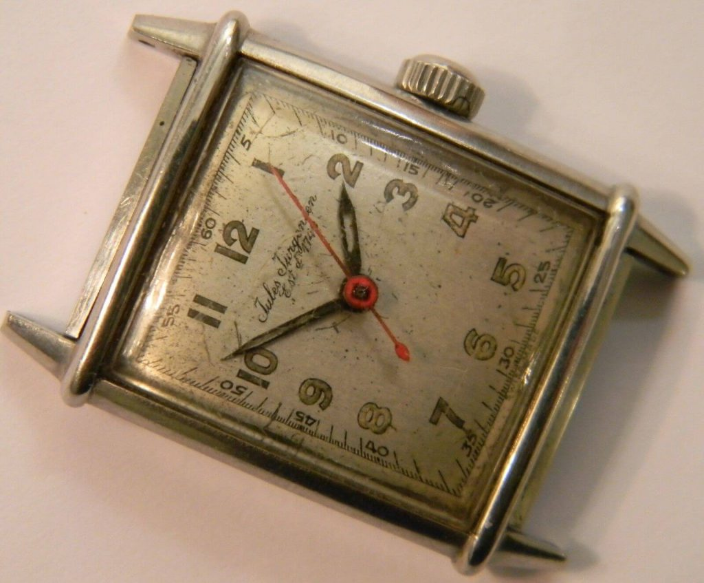 Rare Jules Jurgensen WWII military watch