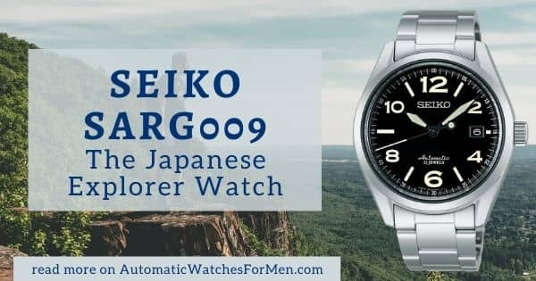 Seiko SARG009 Review