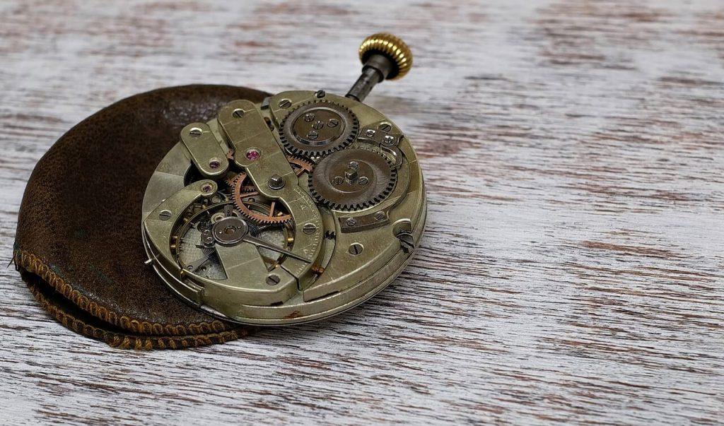 Vintage Pocket Watch Bronze