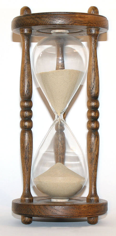 History Of Watches hourglass sandglass