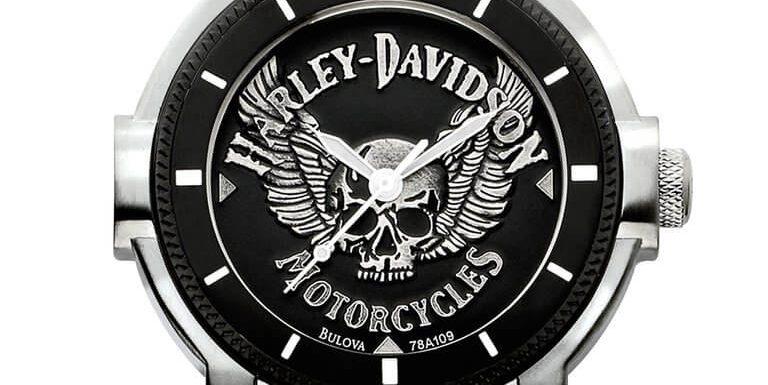 Bulova Harley Davidson Watch 78A109