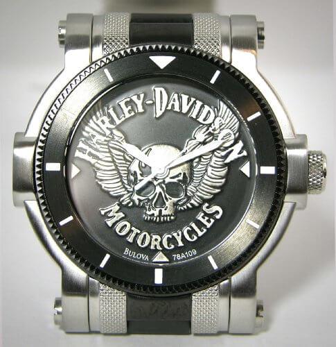 Bulova Harley Davidson Watch 78A109 sides3