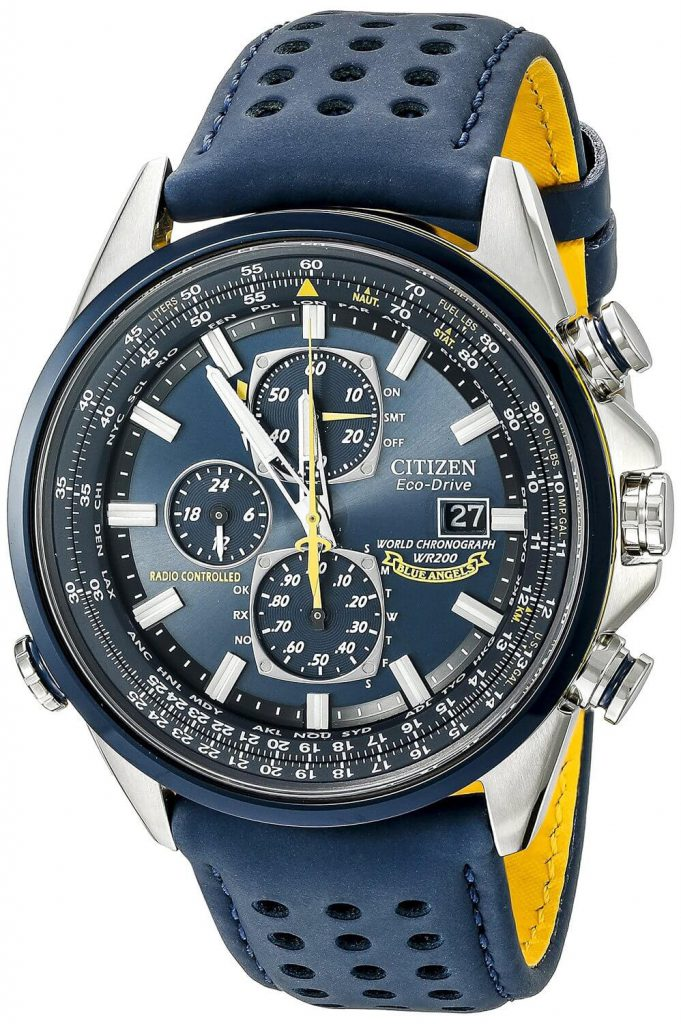 Citizen Blue Angels AT8020-03L review
