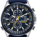 Citizen Blue Angels AT8020-03L review front