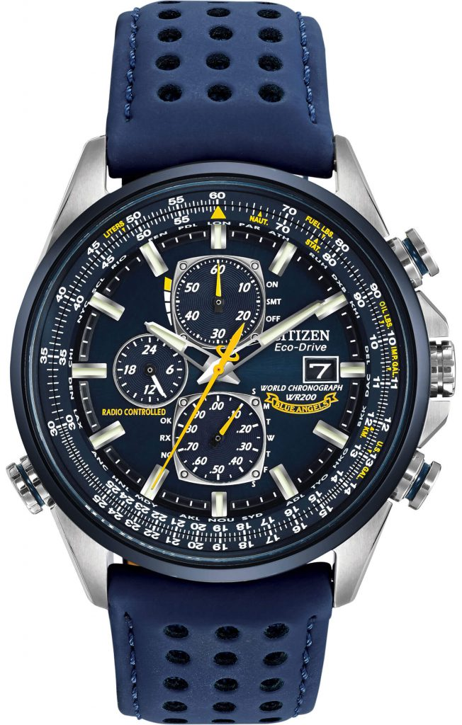 Citizen Blue Angels AT8020-03L review front