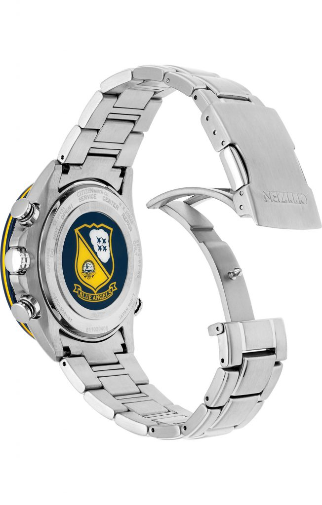 Citizen Blue Angels Caseback AT8020-54L