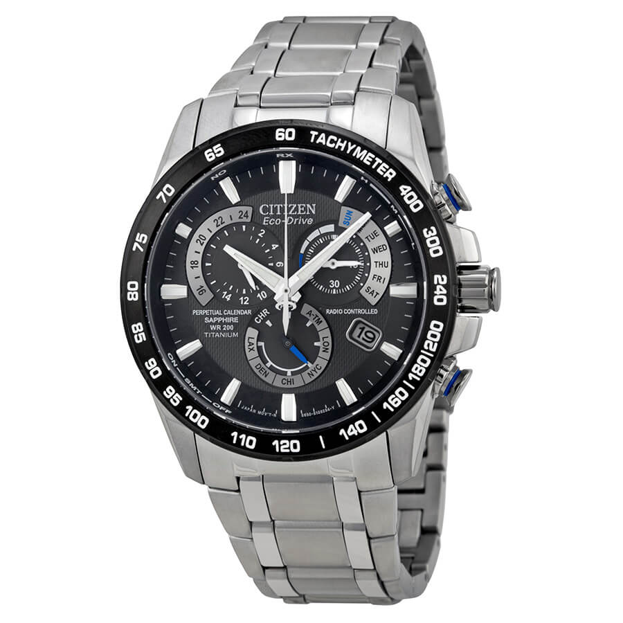 Citizen Eco-Drive Perpetual Chronograph AT4010-50E Watch