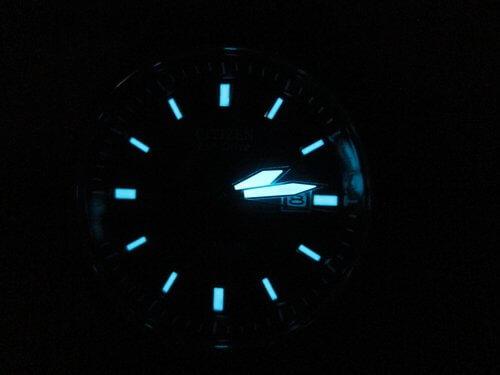 Citizen Eco-Drive Titanium lume